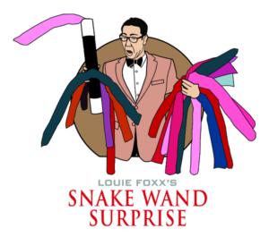 Snake Wand Surprise magic trick