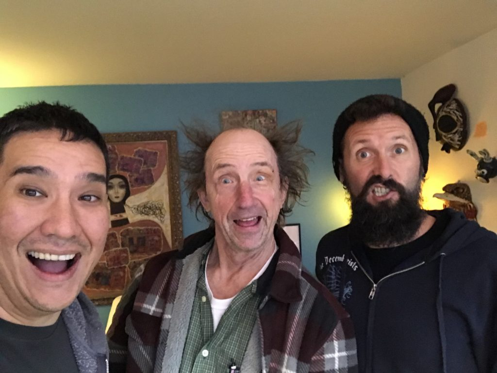 Louie Foxx, Bill Robison and Matt Baker at The Moisture Festival Podcast