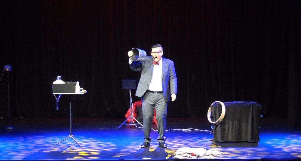 Himber pail magic trick