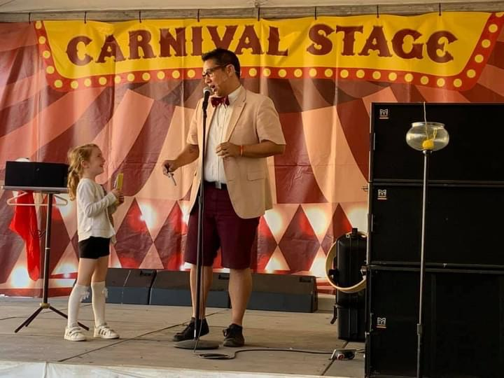 Stage magic show